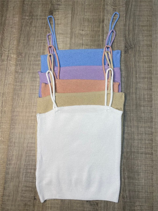 Croptop tricot