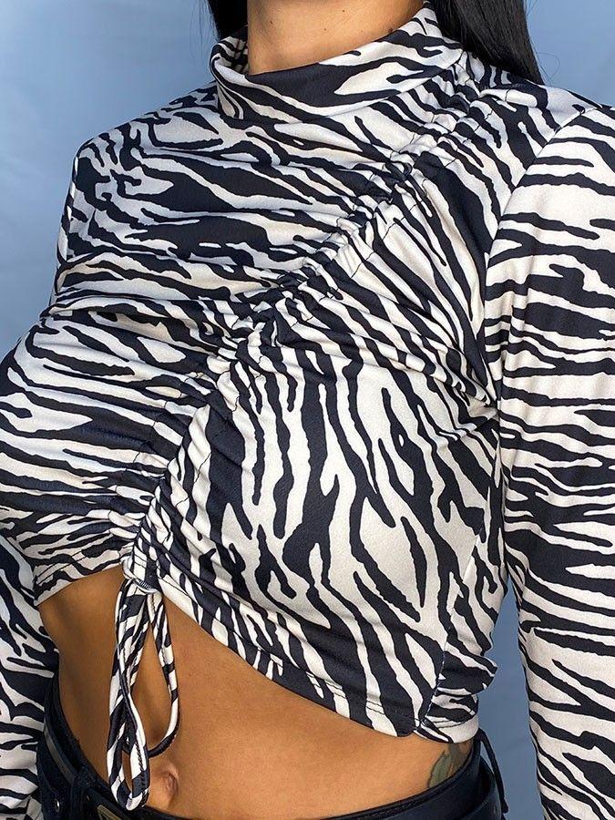 Croptop zebra