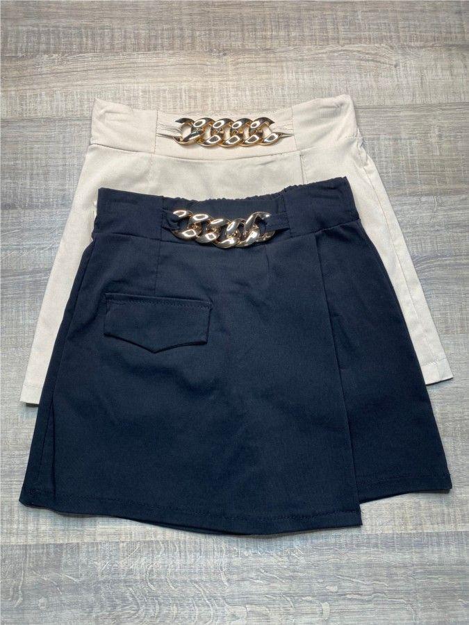 Falda pantalón cadena