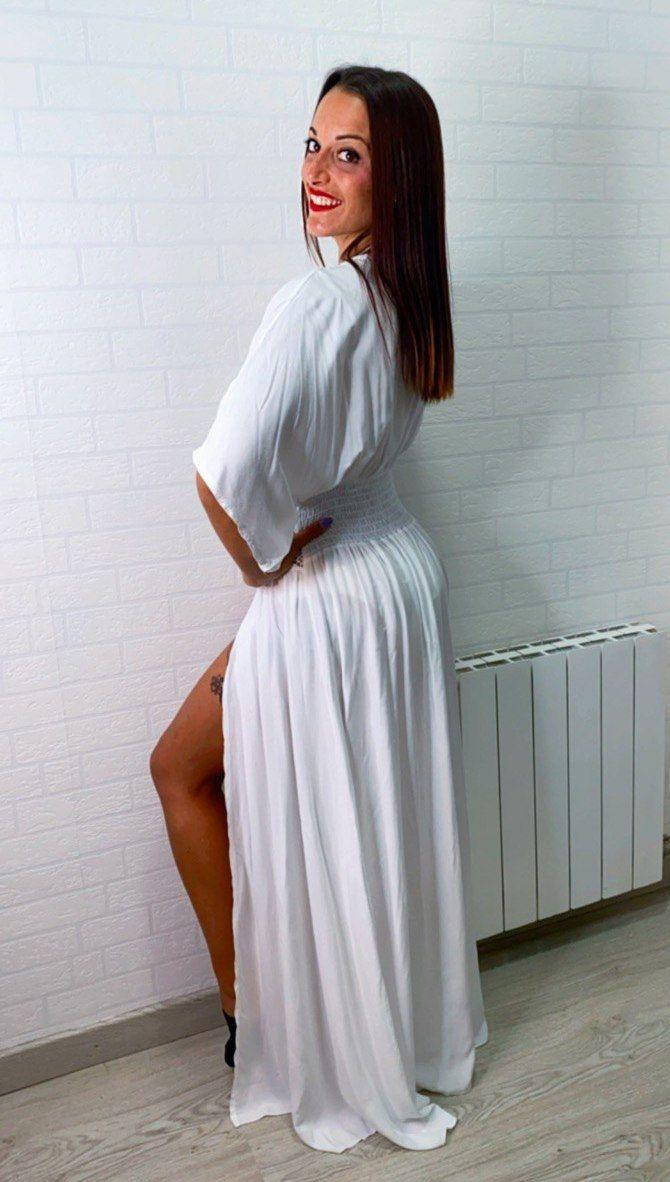 Kimono ibicenco largo