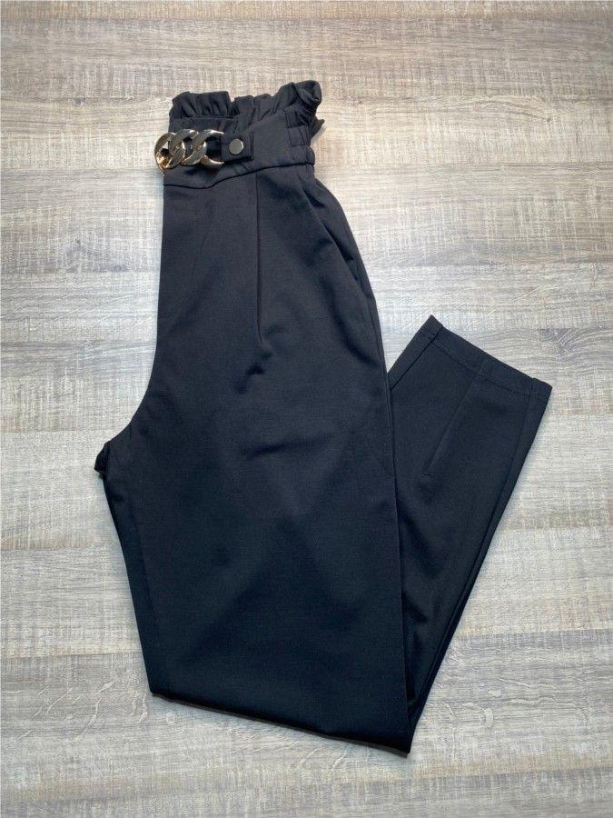 Pantalón pinzas cadena