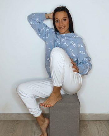 Sudadera Vogue capucha