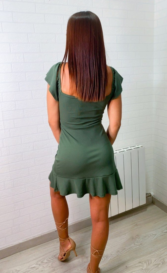 Vestido campesina canalee