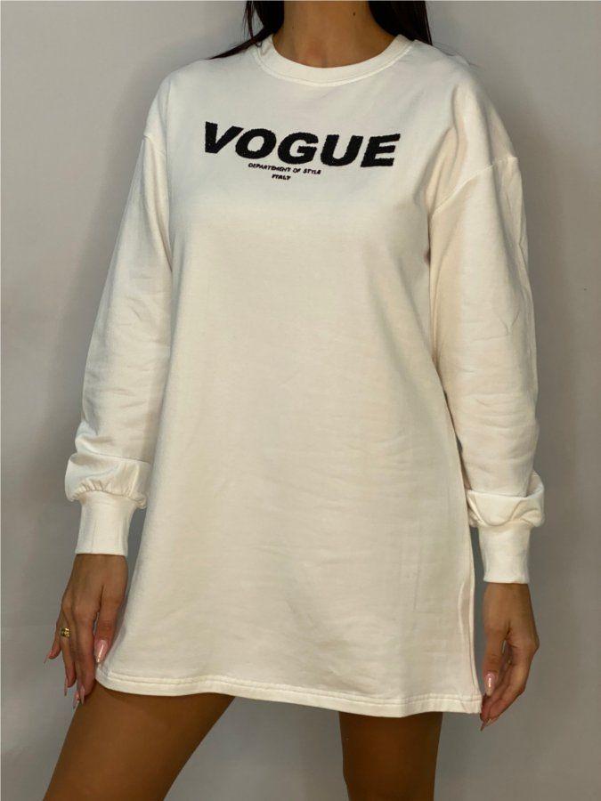 Vestido sudadera Vogue